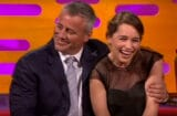 Emilia Clarke fangirls over Matt LeBlanc