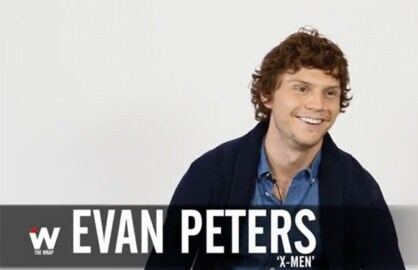 Evan Peters on Quicksilver Film