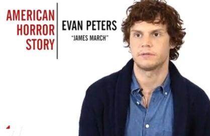 Evan Peters Emmy Quickie