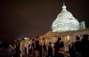 Filibuster Anti Gun March on Senate