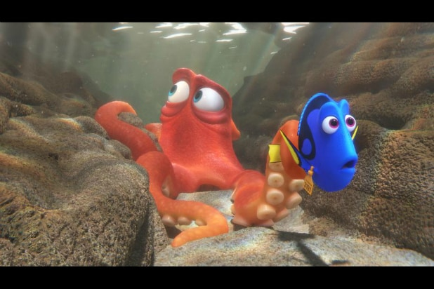 Finding Dory octopus