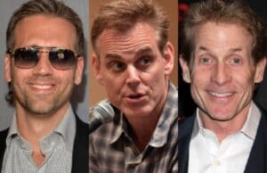 First Take Skip Bayless Colin Cowherd Max Kellerman