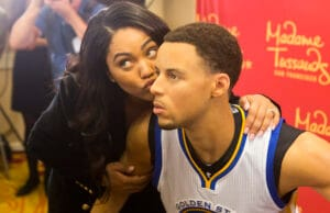 Madame Tussauds San Francisco Reveals Wax Figure Of Golden State Warriors Point Guard Stephen Curry In Oakland On March 24