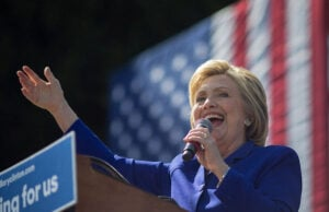 Hillary Clinton Crosses Delegate Threshold to Become Democratic Presidential Nominee