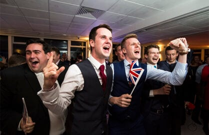 The EU Referendum Results Reactions