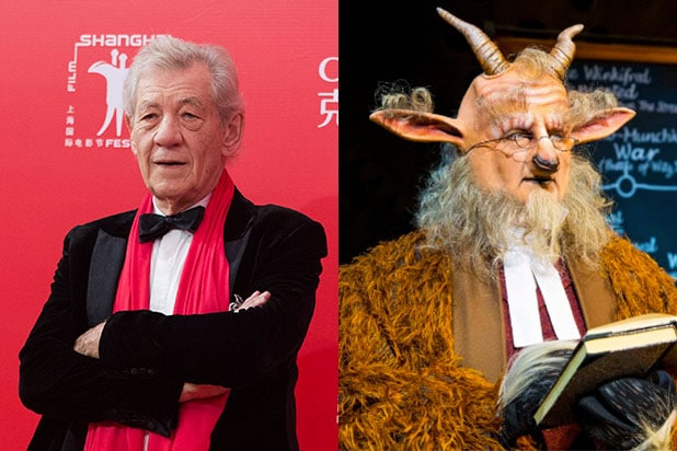 Ian McKellen as Doctor Dillamond