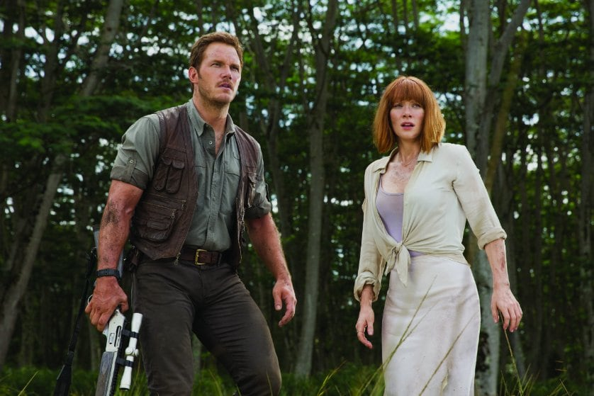 Chris Pratt Pets Baby Raptor In 'Jurassic World: Fallen Kingdom' Teaser