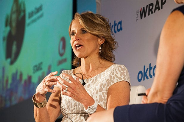 Katie Couric NYC Power Women Breakfast