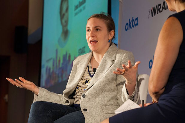 Lena Dunham at Power Women Breakfast