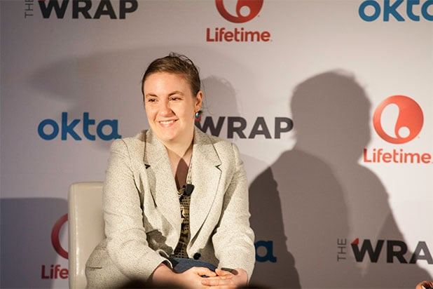 Lena Dunham At TheWraps Power Women Breakfast