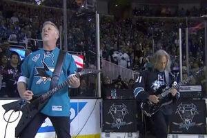 Metallica Stanley Cup Finals