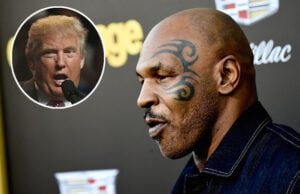 Mike Tyson and Donald Trump