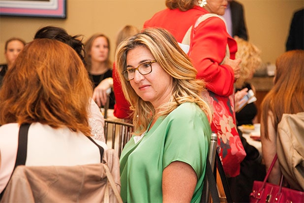 Nancy Dubuc Wrap Power Women Breakfast