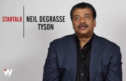 Neil deGrasse Tyson Emmy Quickie