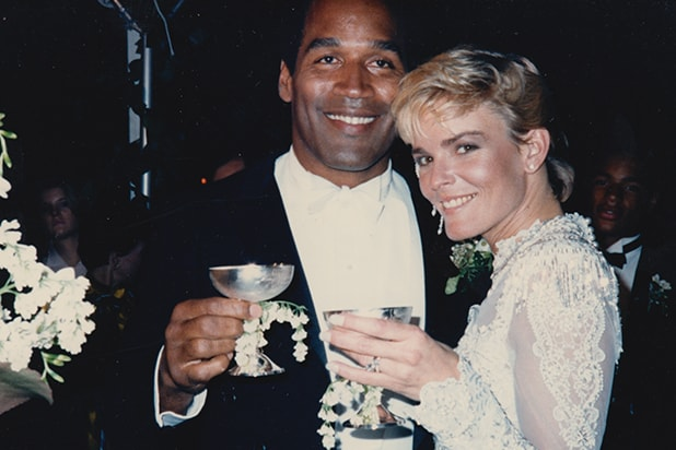 OJ Simpson and Nicole Brown Simpson's Wedding Photos Justin Simpson Nicole