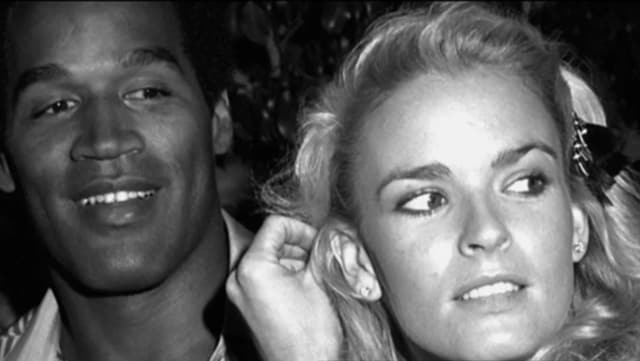 OJ Simpson and Nicole Brown 2