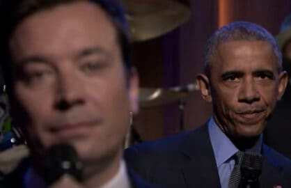 Obama Slow Jamming on Jimmy Fallon