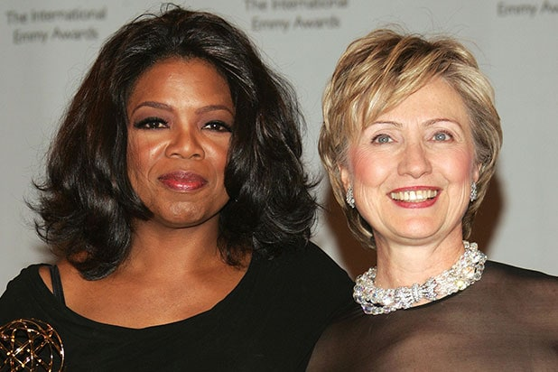 Oprah Winfrey endorses Hillary Clinton