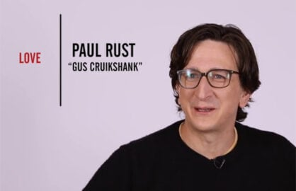 Paul Rust Emmy Quickie