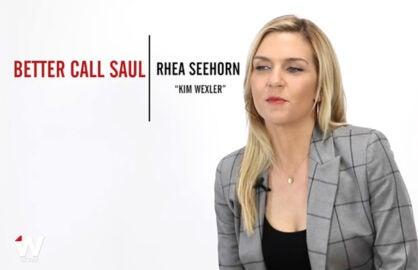 Rhea Seehorn Emmy Quickie