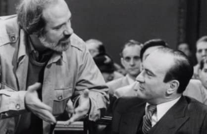 Brian De Palma Robert De Niro Untouchables