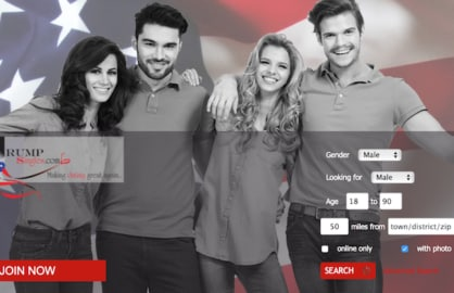 Are You a Trump Supporter Unlucky in Love Theres an App for That