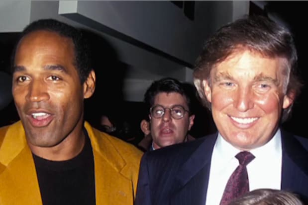 OJ Simpson and Donald Trump