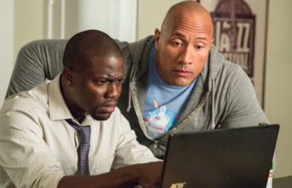 The Rock Dwayne Johnson Kevin Hart Central Intelligence
