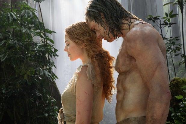 The Legend of Tarzan Robbie Skarsgaard