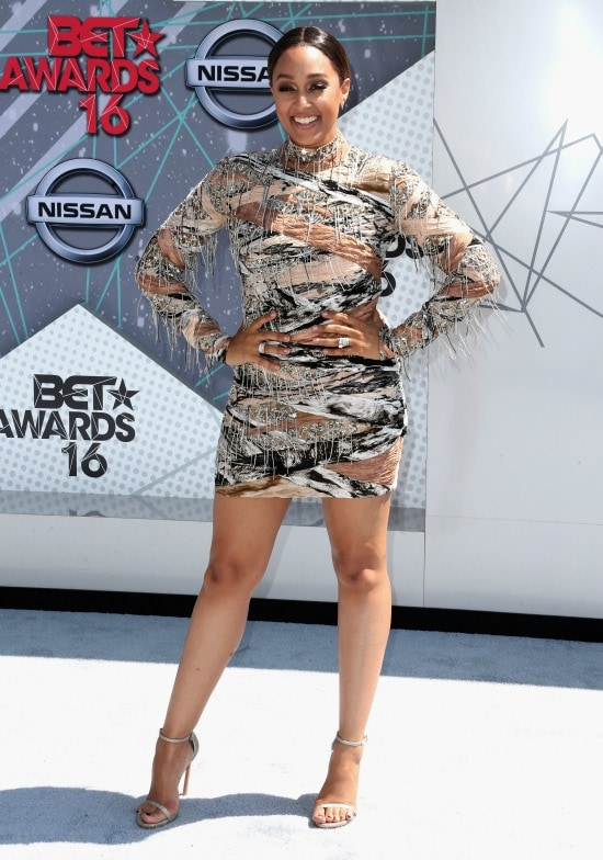 Tia Mowry Hardrict 2016 bet awards