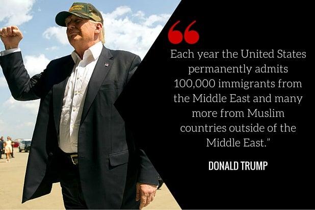 donald trump muslim immigrants