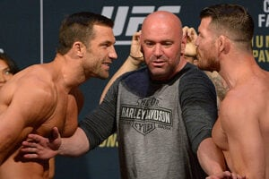 UFC 199 Luke Rockhold and Michael Bisping