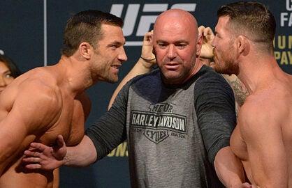 UFC 199 Luke Rockhold and Michael Bisping