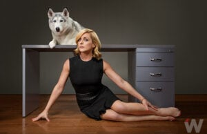 Jane Krakowski photographed for TheWrap by HollenderX2