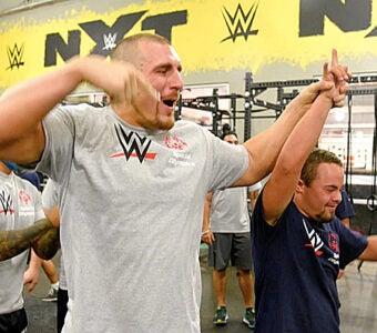 Mojo Rawley WWE and Special Olympics