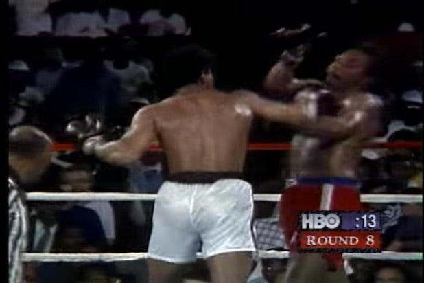Muhammad Ali defeats George Foreman