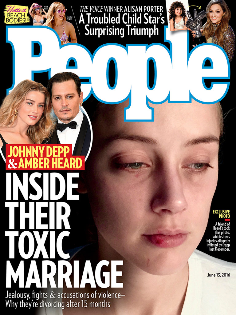 amber heard johnny depp people cover