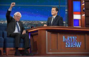 Bernie Sanders Stephen Colbert