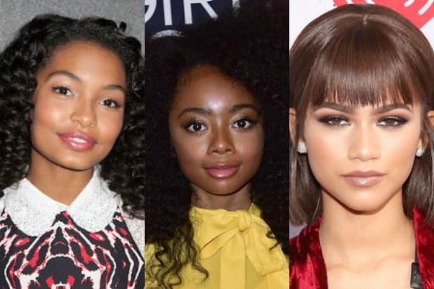 black girl magic zendaya skai jackson yara shahidi