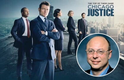 Chicago Justice Showrunner Michael S Chernuchin