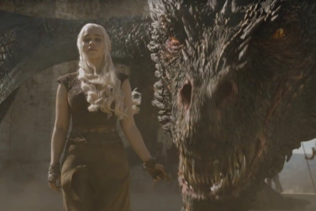 daenerys and her dragon game of thrones