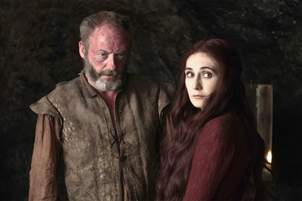 davos and melisandre