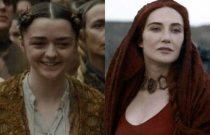game of thrones arya melisandre