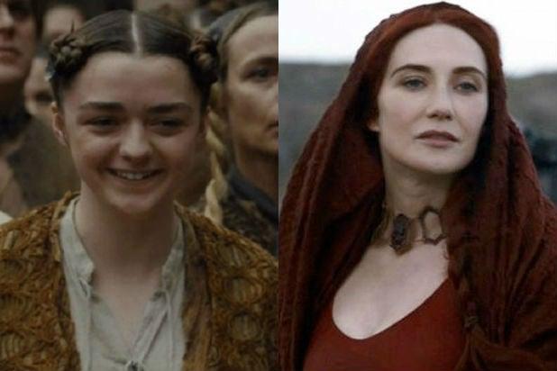 'Game of Thrones': Will Arya Meet Melisandre Again?