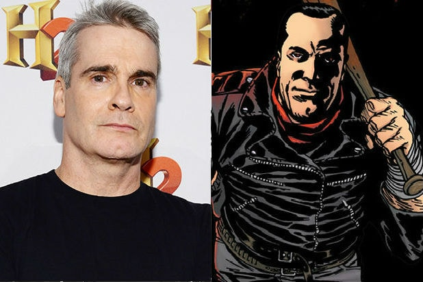 henry rollins negan walking dead