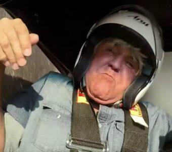 Jay Leno Car Crash