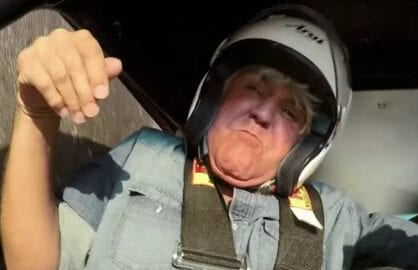 Jay Leno Car Crash