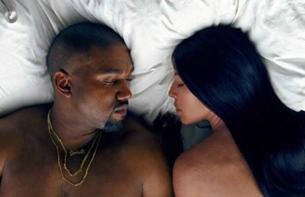 Kanye West Kim Kardashian Famous music video