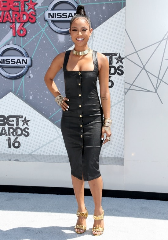 karrueche tran 2016 bet awards