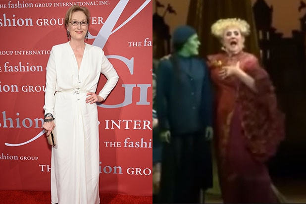 meryl streep as madame morrible